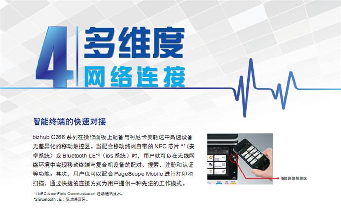 柯尼卡美能达C226彩色复印机智能终端的快速对接-科颐办公